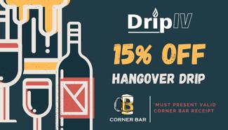 Discount Cards - Drip IV _ Corner Bar